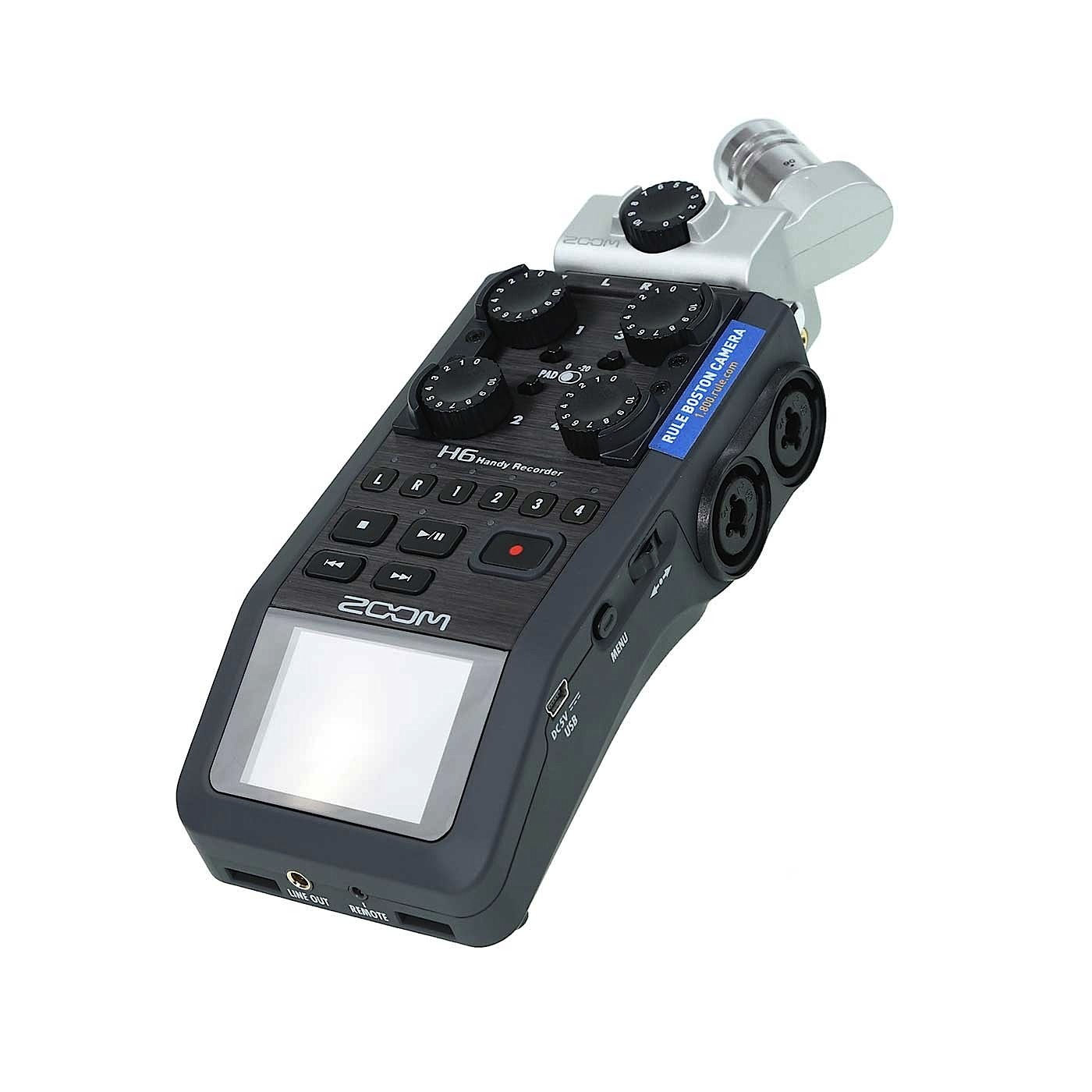 Zoom H6 Portable SDHC/XC Audio Recorder