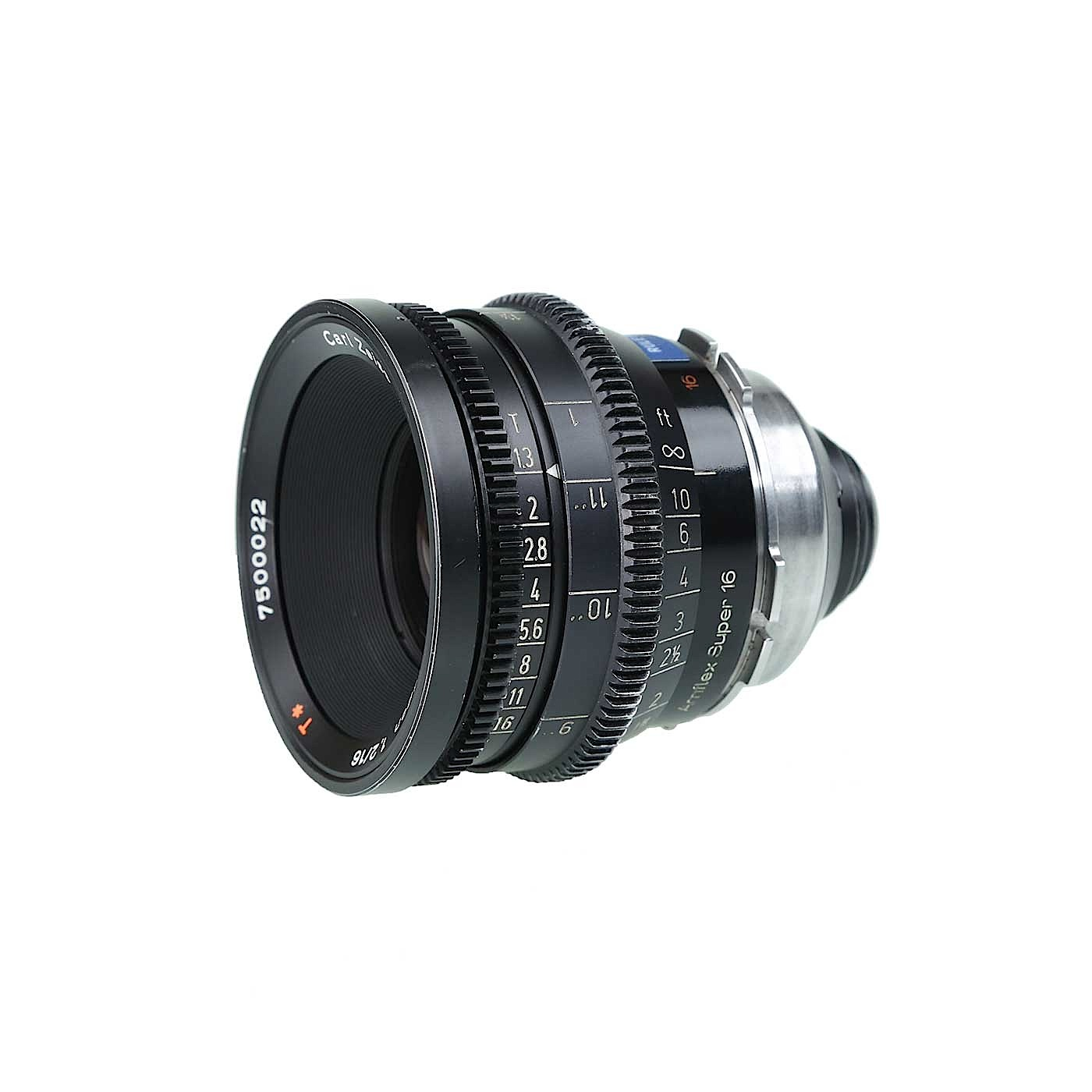 Zeiss 16mm T1.3 PL (High Speed) Prime Lens