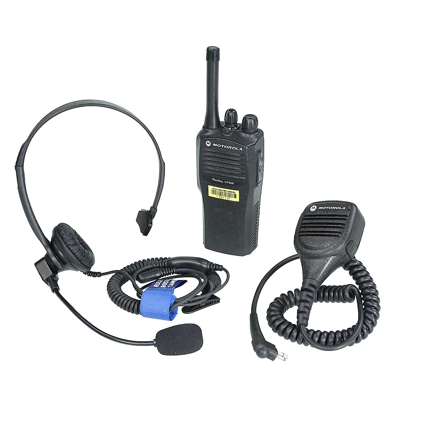 Motorola Radius Cp200 Walkie Talkie Rule Camera