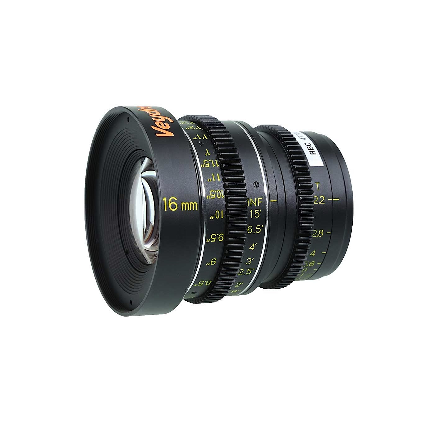 Veydra 16mm Micro 4/3 T2.2 Mini Prime Lens