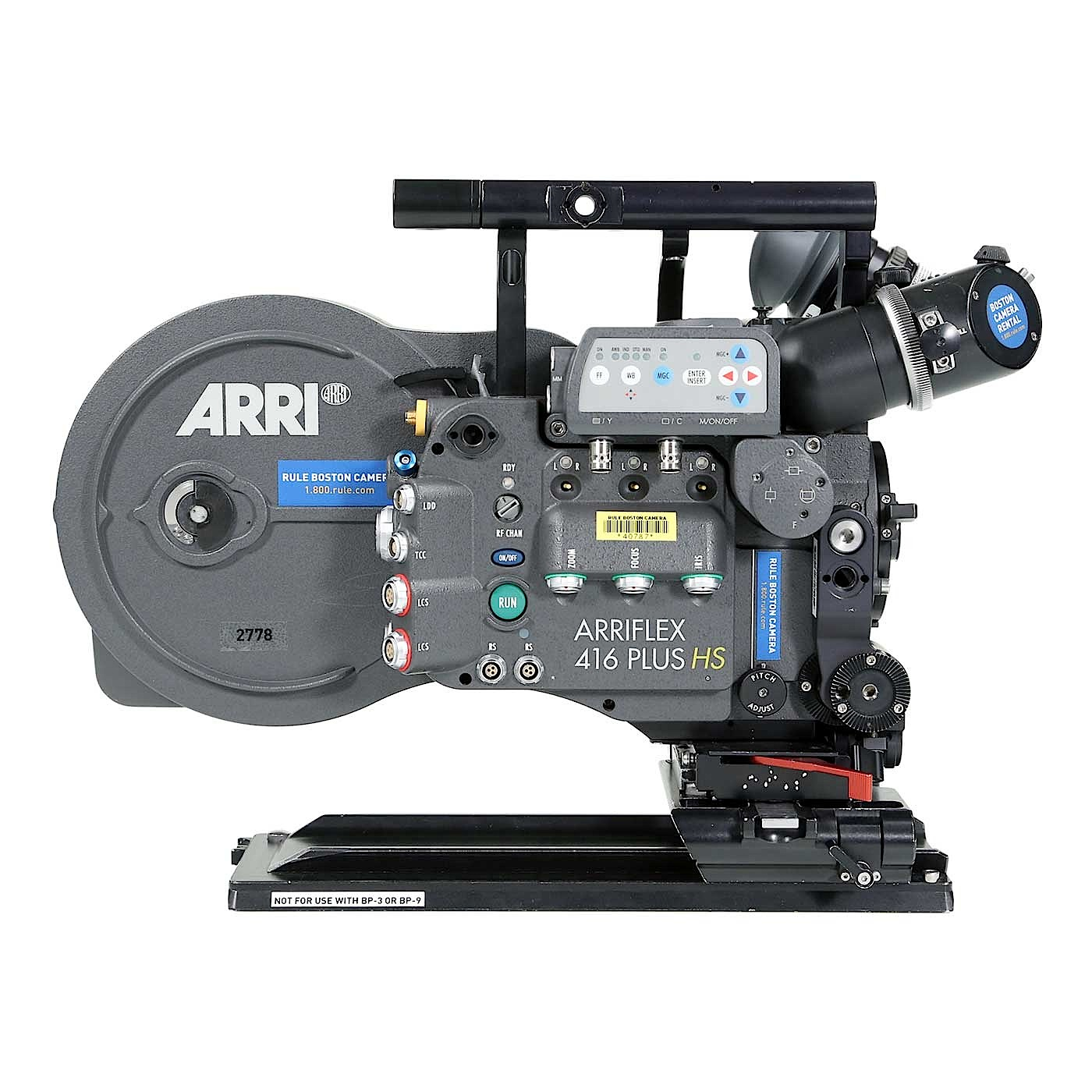 ARRI 416 Plus HS Super-16mm High Speed Camera