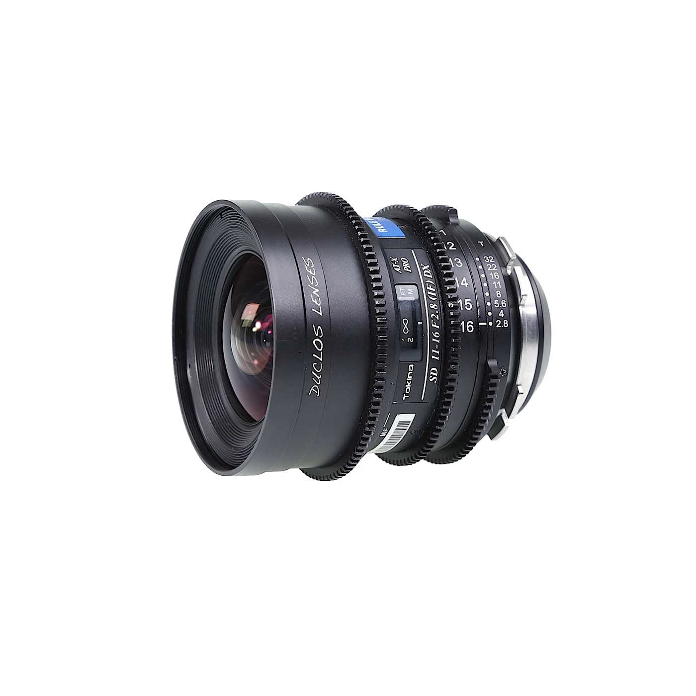 Duclos 11-16mm PL Mount Variable Prime Lens