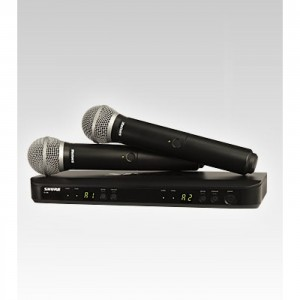 Shure 149561 SHURE BLX288/PG58 M15 dual vocal system