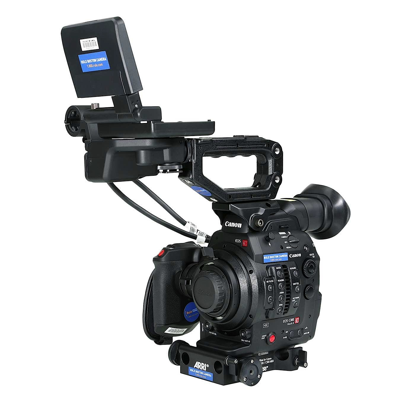 Canon EOS C300 Mark II PL Mount Super 35mm Camera
