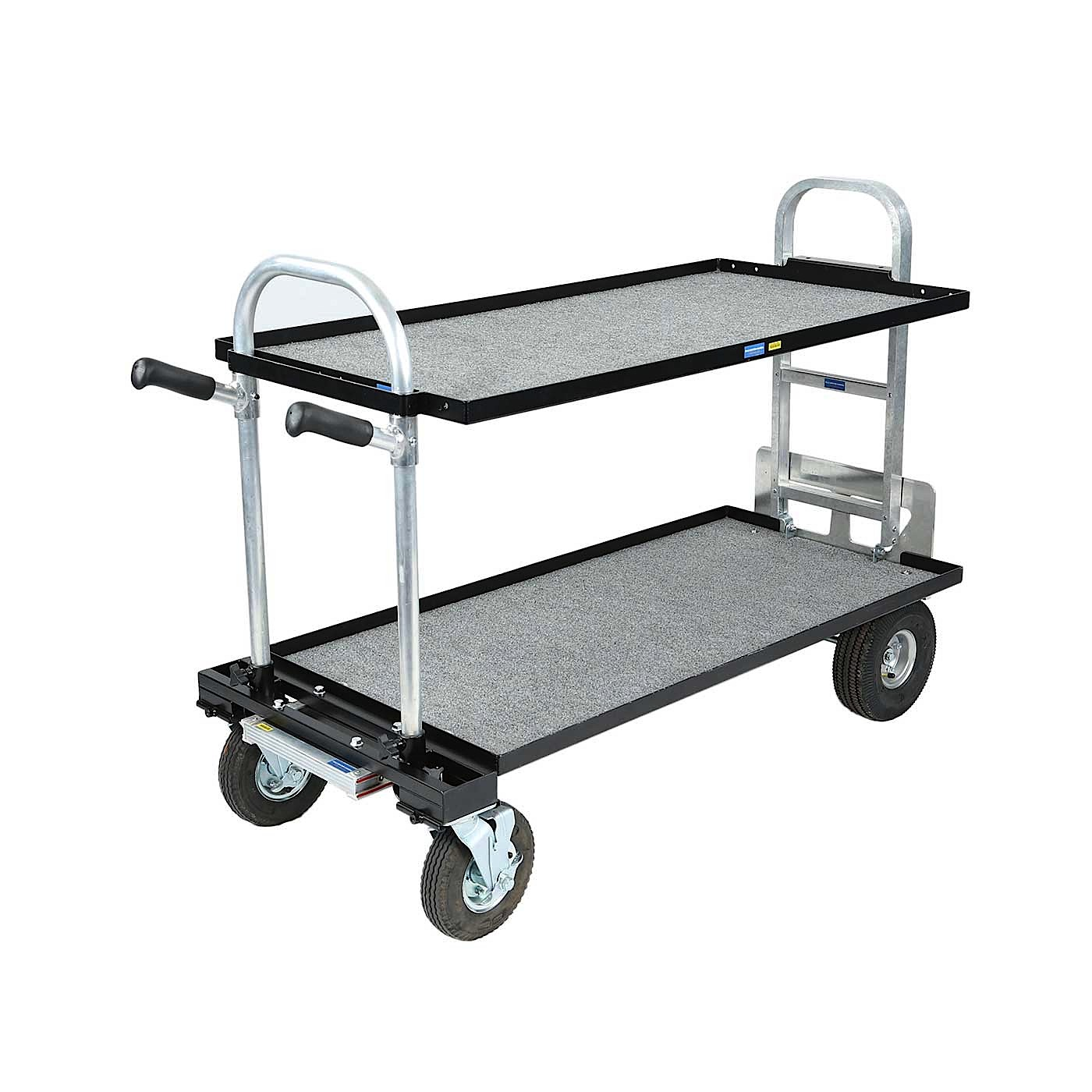 Magliner Gemini 24x36 Senior Cart with Wide Shelf