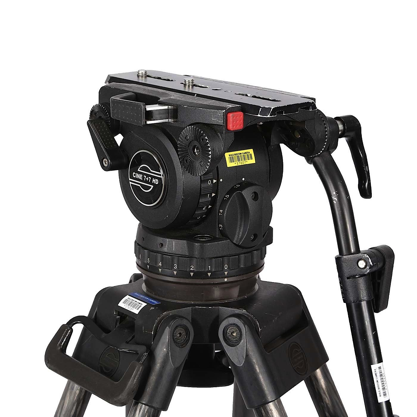 Sachtler Cine 7+7 HD Fluid Tripod Head