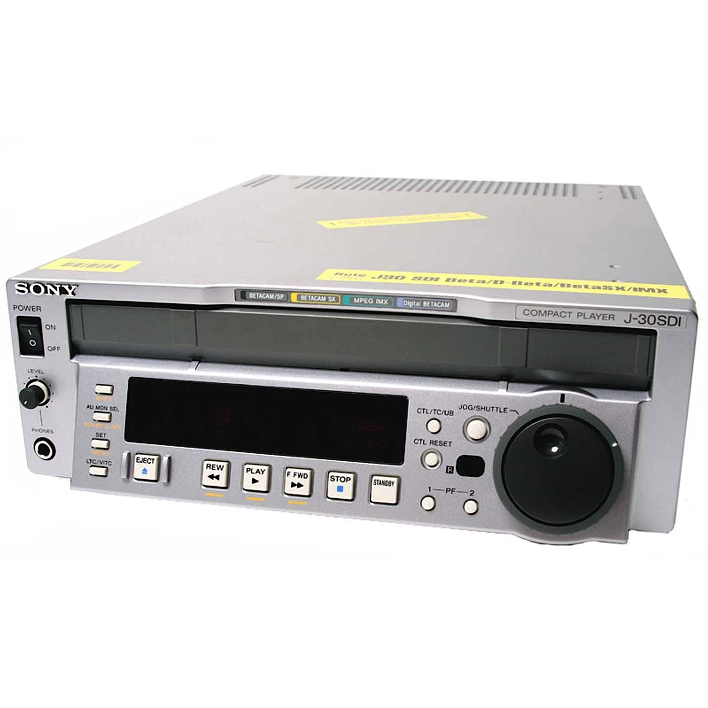 Sony J30 SDI Multiformat Player VTR