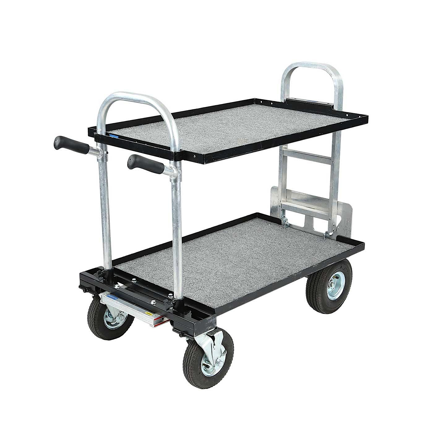 Magliner Gemini 24x36 Junior Cart with Wide Shelf
