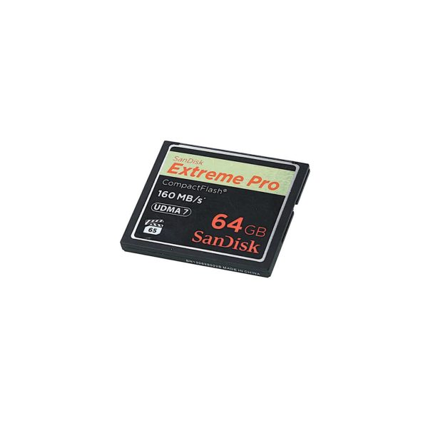 SANDISK 64GB 1067x 160MB/s Compact Flash Card