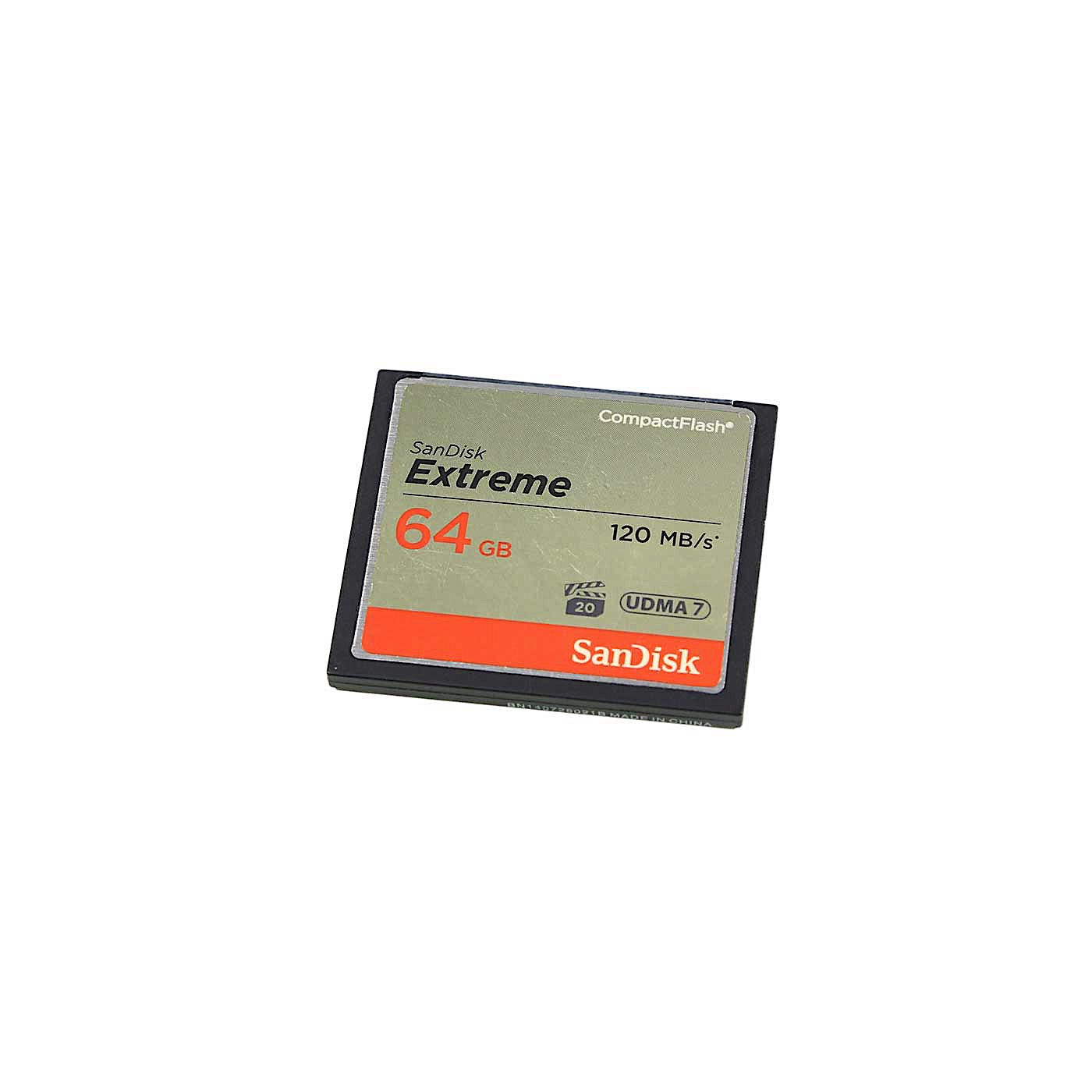 Sandisk 64GB 800x 120MB/s Compact Flash Card