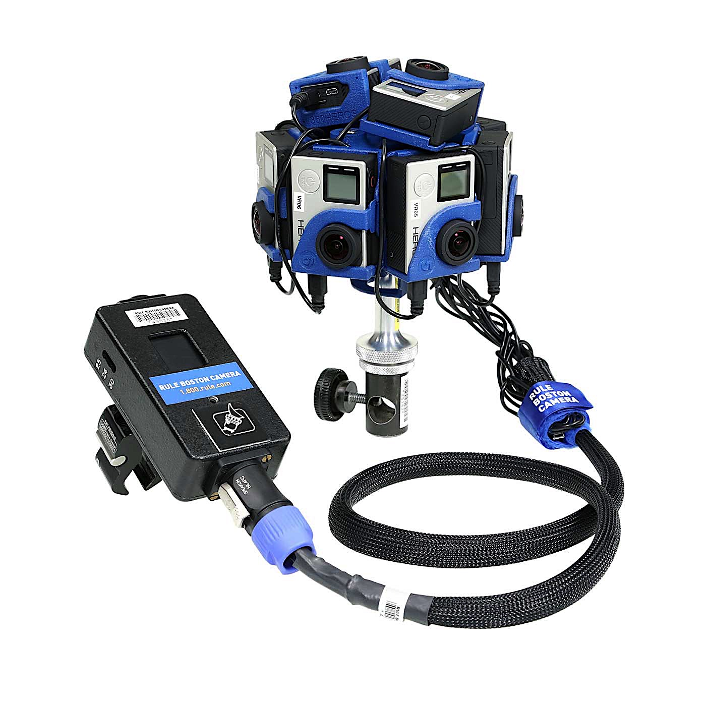 360Heros PRO10HD 360° Virtual Reality GoPro Rig